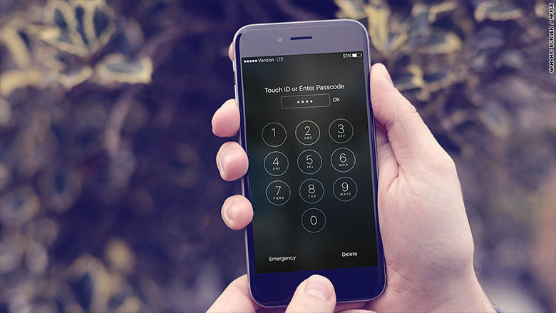 apple iphone encryption