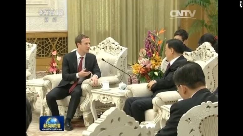 zuckerberg liu yunshan side