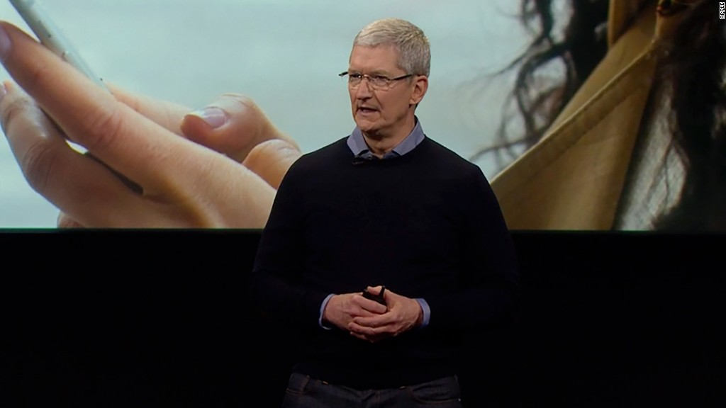 Apple's Tim Cook: 'We will not shrink' from FBI fight