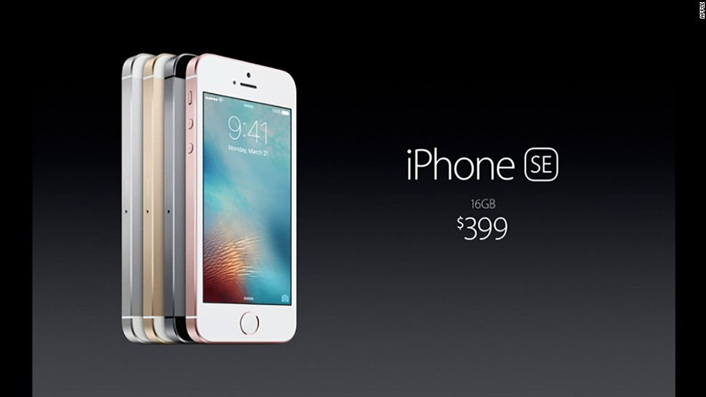 Apple's four-inch iPhone SE in :90