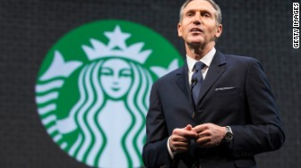 starbucks hunger relief howard schultz