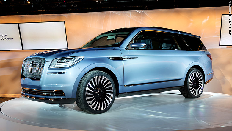 ford reveals lincoln navigator of tomorrow. Black Bedroom Furniture Sets. Home Design Ideas