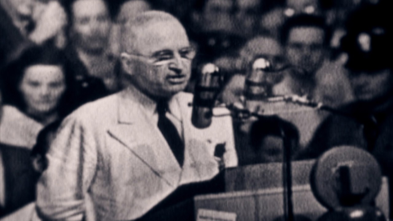 President Harry Truman's game-changing speech - Video - Business News