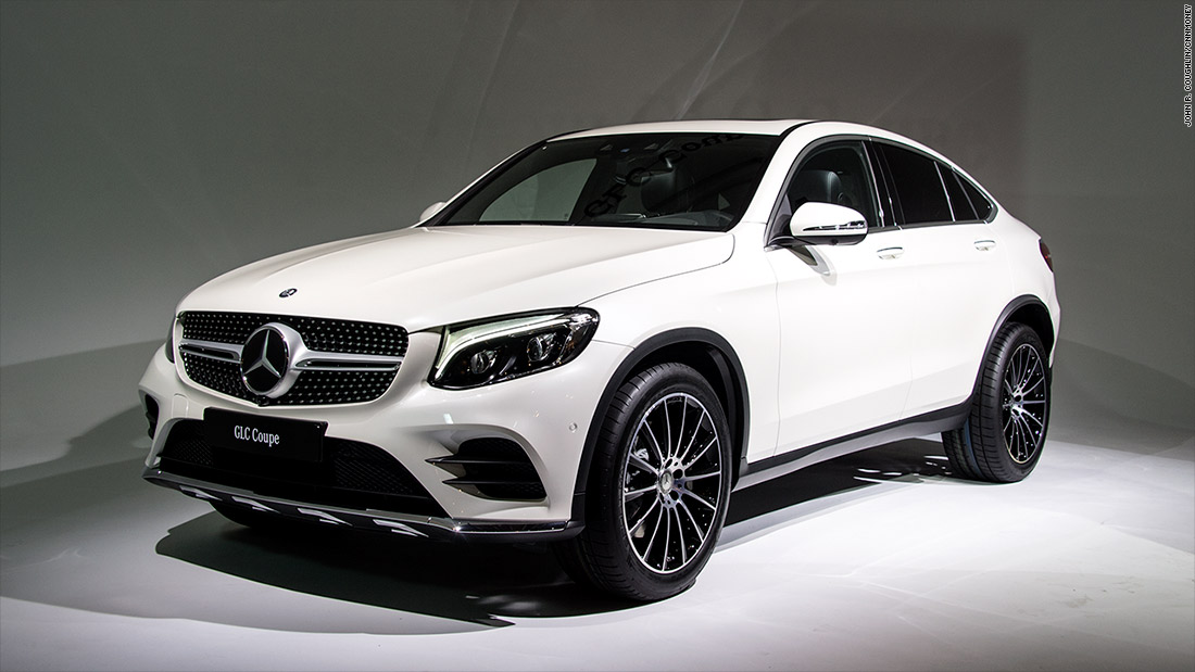 Mercedes GLC Coupe Cool Cars From The New York Auto Show CNNMoney - Cool coupe cars