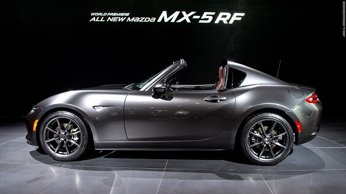 Mazda MX RF Cool Cars From The New York Auto Show CNNMoney - New sports cars in 2016