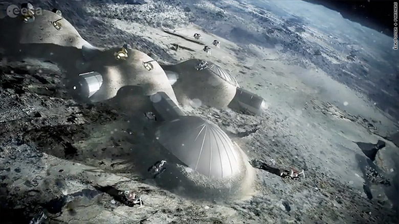 Moon village envisioned by European Space Agency