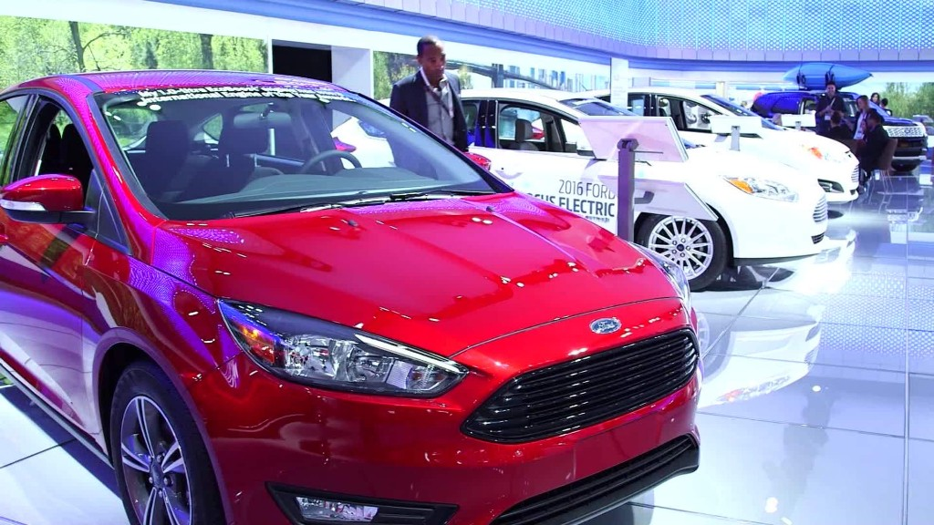 Ford CEO: We're not threatened by Uber