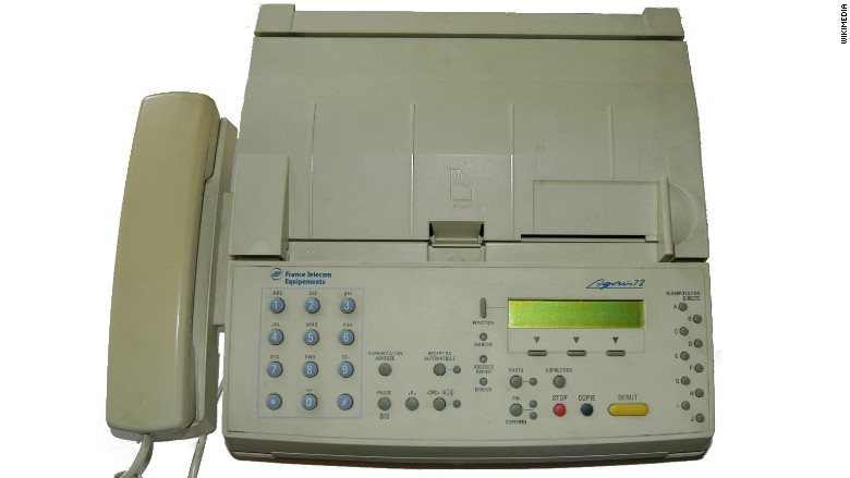 email document to fax machine