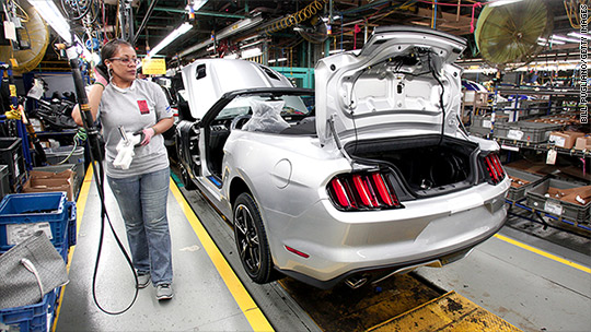 Ford reports best first quarter in 113 years