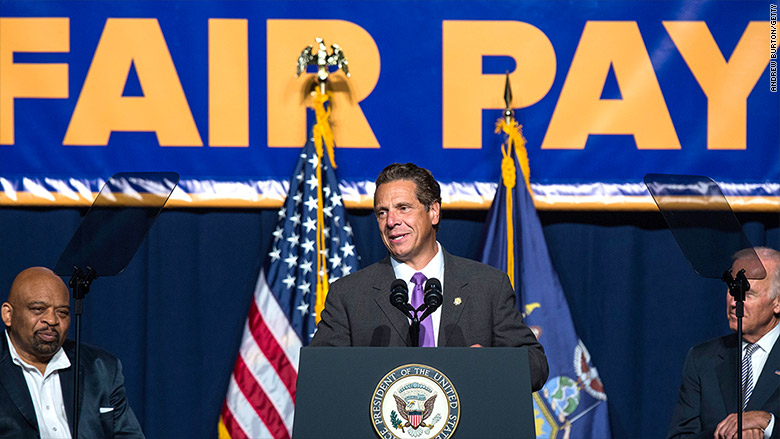 New York may strike a deal for a $15 state minimum wage