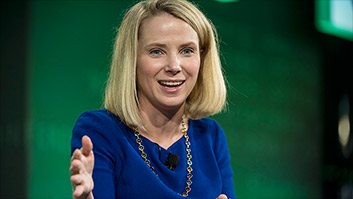 Yahoo CEO on maternity leave: 'I'm the exception'