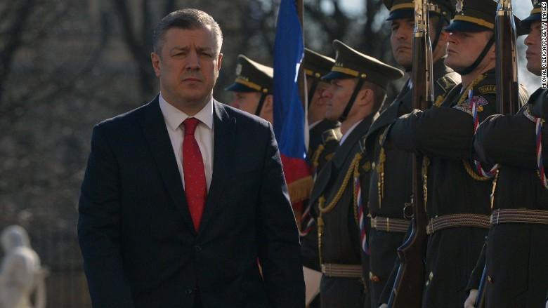 Giorgi Kvirikashvili georgia prime minister