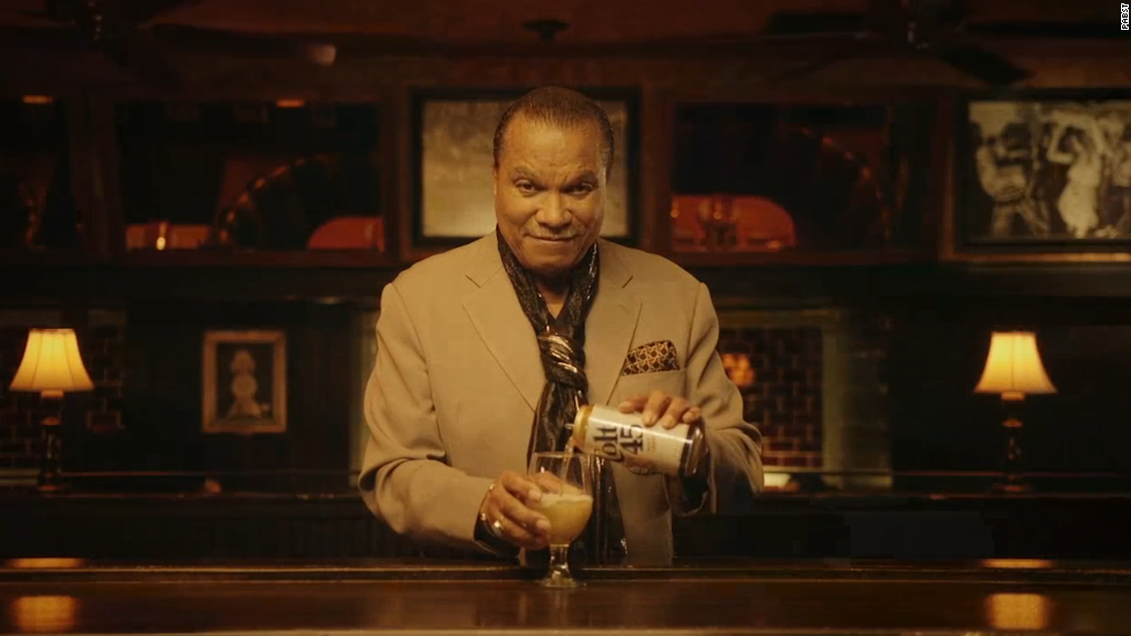 Billy Dee Williams returns to Colt 45 ads