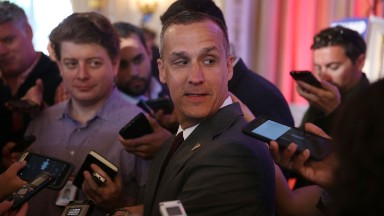 Former Trump campaign manager Corey Lewandowski shopping book -- again