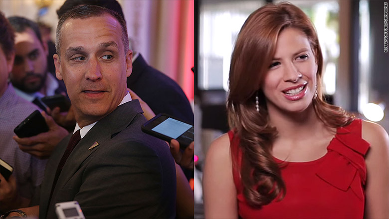 corey lewandowski michelle fields