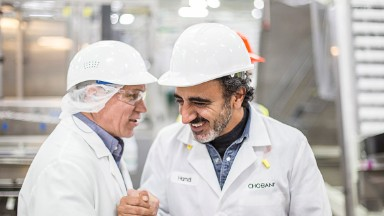 Chobani CEO finds Trump's travel ban 'personal for me'