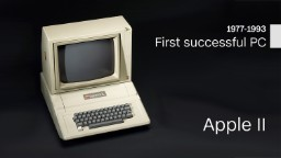 The products that made Apple