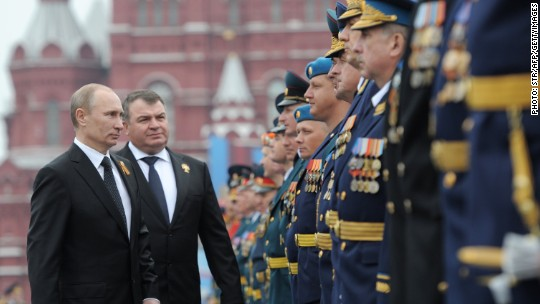 Russia is now the world's 3rd largest military spender