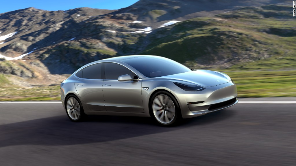 Tesla's Model 3 is an electric car for the masses