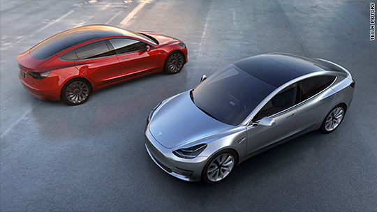 Tesla Model 3's first week: 325,000 orders