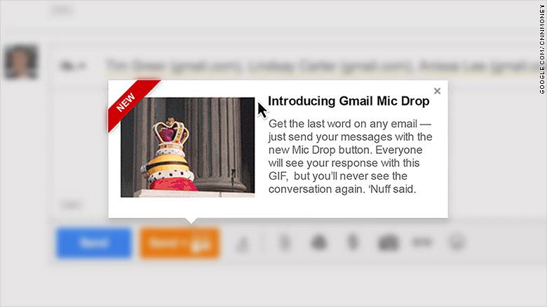 google mic drop