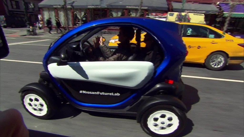 Taking Nissan's New Mobility Concept for a spin