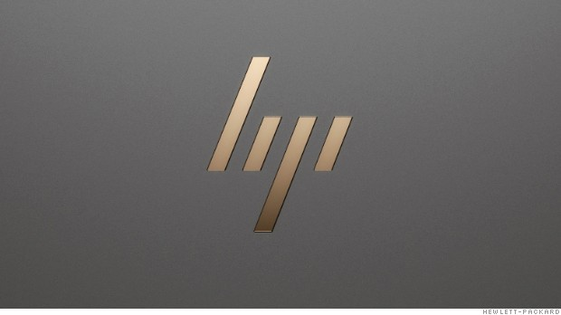 HP unveils a new logo: Can you see the 'h' and the 'p'?