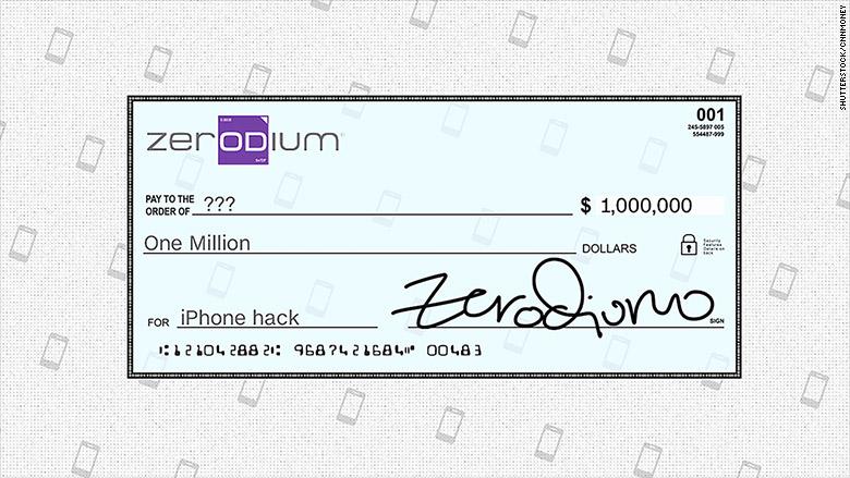 zerodium 1 mil