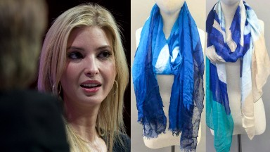 Ivanka Trump scarves made in China recalled