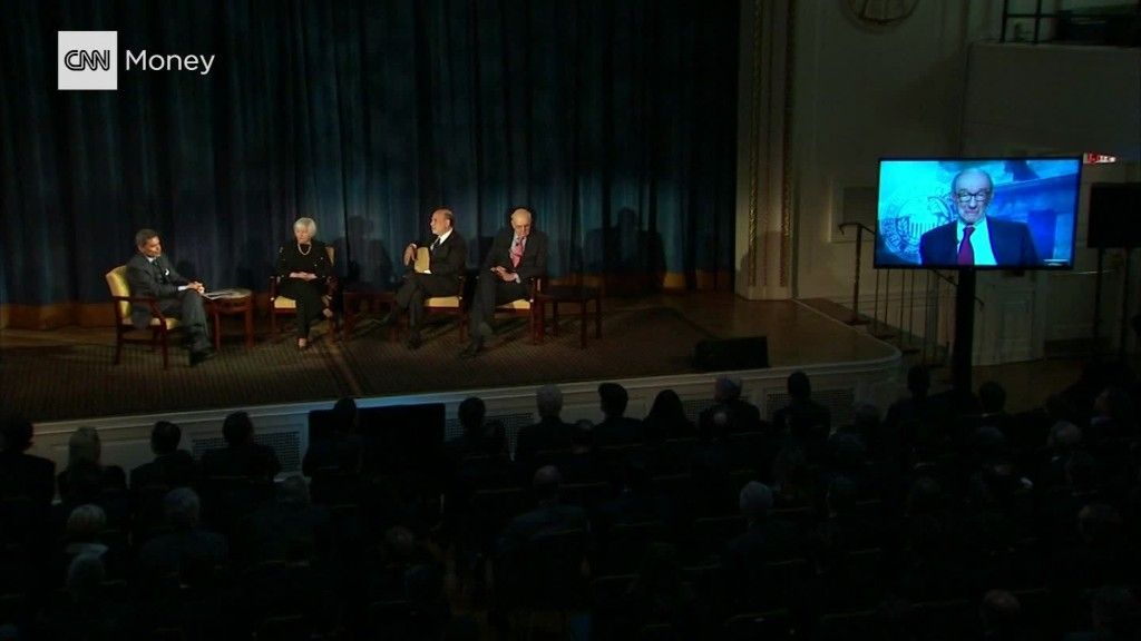 Four fed chairs not concerned about bubble economy