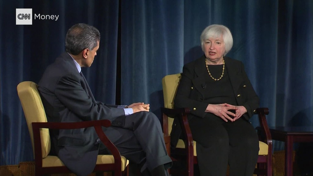Yellen: December rate hike was not a mistake