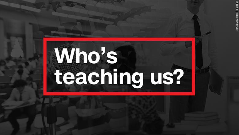 who's teaching us
