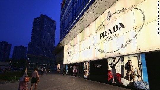 Chinese shoppers are buying fewer Prada bags