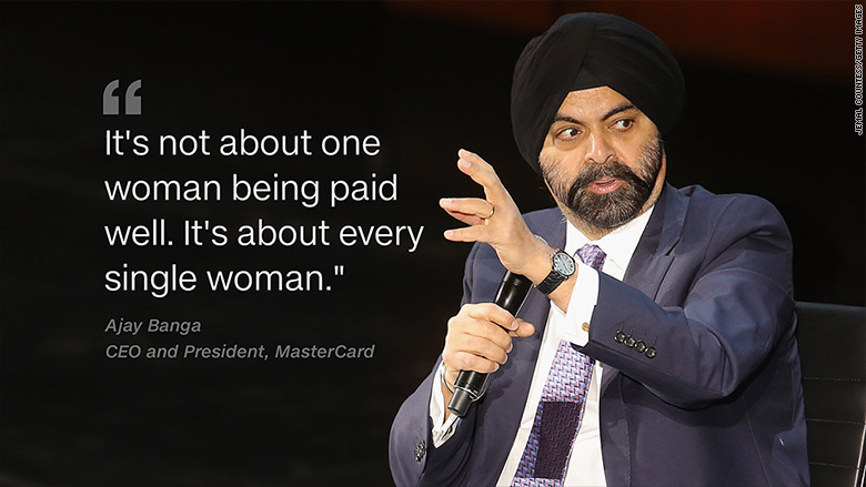 ajay banga ceo mastercard quote