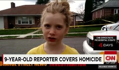 How a 9 year old broke news about a murder
