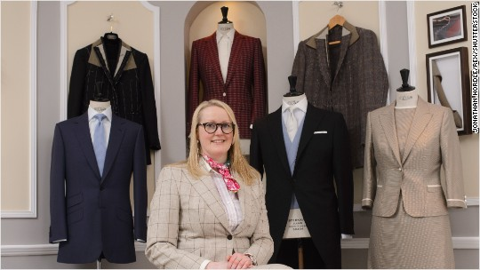 Meet the first woman tailor to open a shop on Savile Row
