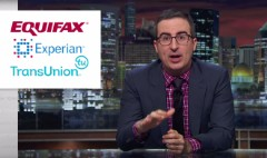 John Oliver rips into the credit reporting industry