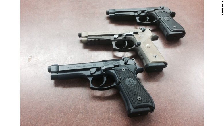 beretta m9 three versions