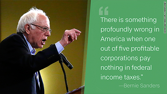 20% of big companies pay zero corporate taxes