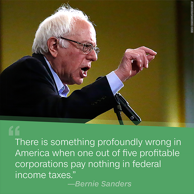Sanders' tax hikes actually might not cost you, but...