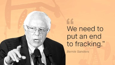 Bernie Sanders wants to kill fracking boom