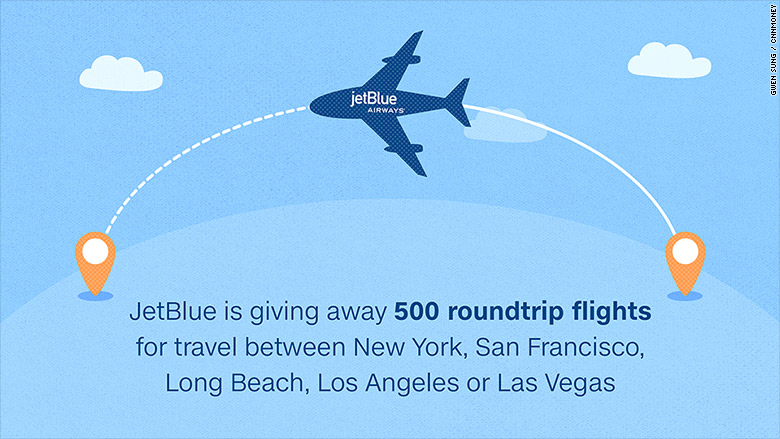 jetblue giveaways