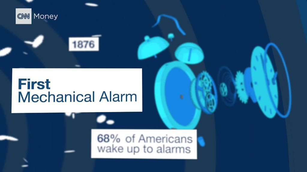 Why being forced to wake up translates to more money