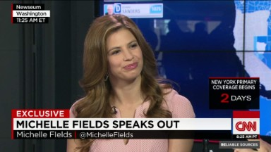 Michelle Fields speaks out