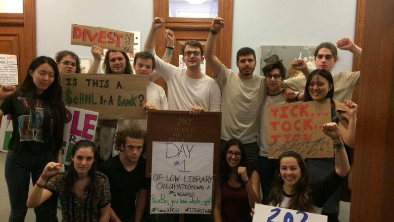 columbia divestment movement