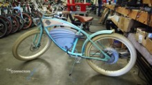 A classic bicycle with a modern twist