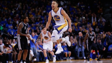 Under Armour is crushing it. Thanks to Steph Curry