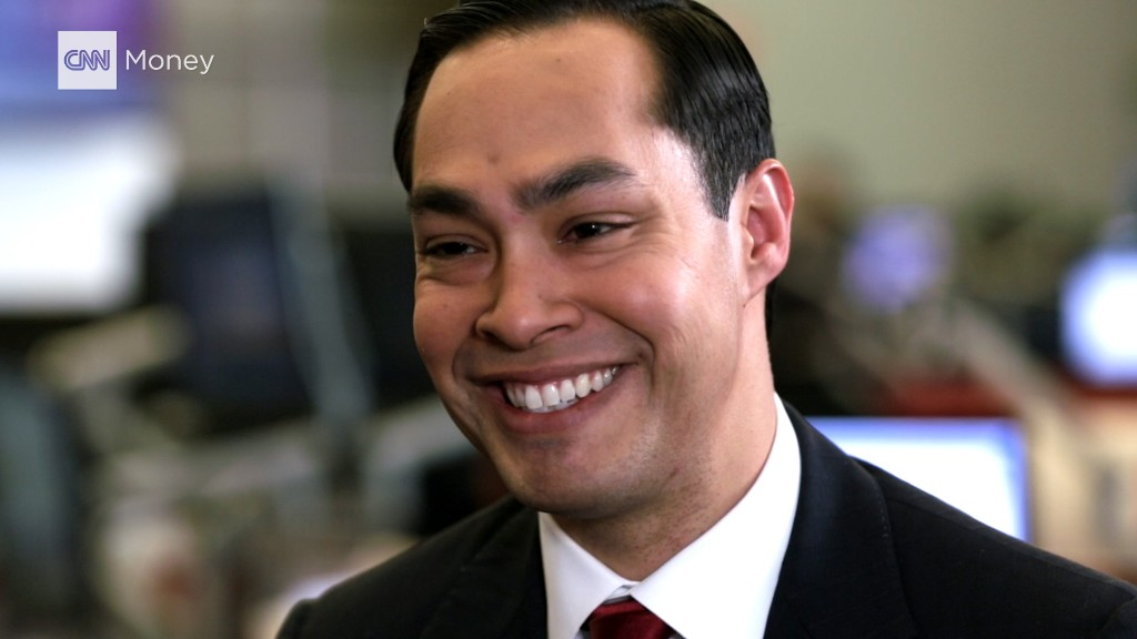 HUD Secy. Julián Castro: Be careful calling Wall Street 'evil'