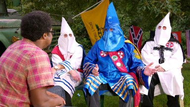 Why black comedian W. Kamau Bell is hanging out with the KKK