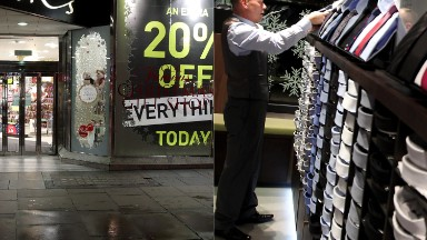 Two British retailers are imploding